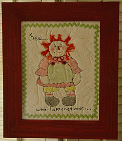 Little Lucy Ann Stitchery